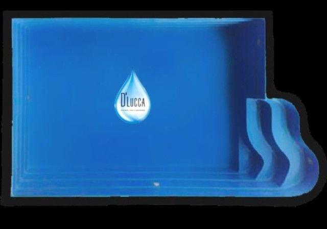 EFG- Promoção Piscinas de Fibra de 4 metros Direto da Fábrica Preço Imbatível !!! - Foto 5