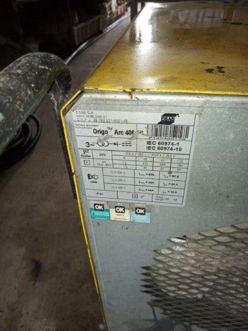 Máquina de solda marca<br>Esab valor. 2 000 - Foto 4