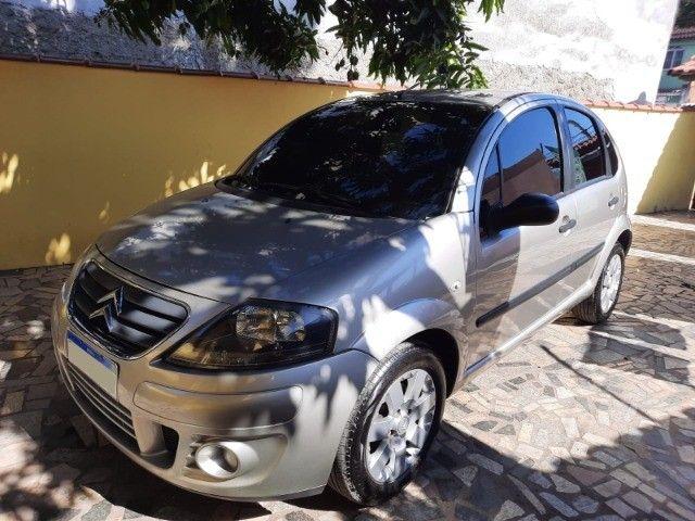 Carro Citroen C3 GLX 1.4 Ano 2012/2012 73.272 KM Rodados Super Conservado!!! - Foto 3