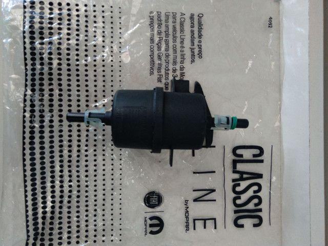 Filtro Combustivel Palio / Siena / Strada 1.0/1.5/1.6 Mpi Mahle - Foto 2