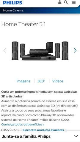 Home Theater Philips Blu-Ray
