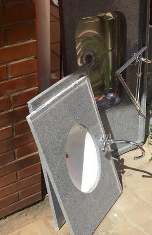 Granito - 2 kits banheiros completos (NOVOS)