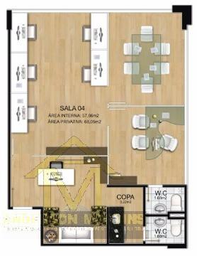 Escritório à venda com 0 dormitórios em Praia da costa, Vila velha cod:3897 - Foto 11
