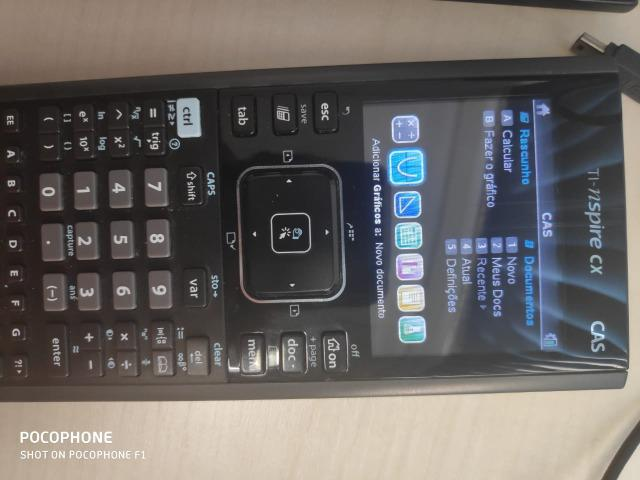 Calculadora ti-nspire cx cas texas Instruments