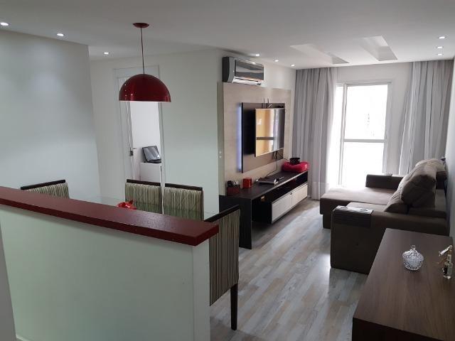 Apartamento com 3 dormitórios à venda, 69 m² por R$ 420.000 - Capão Raso - Curitiba/PR - Foto 3