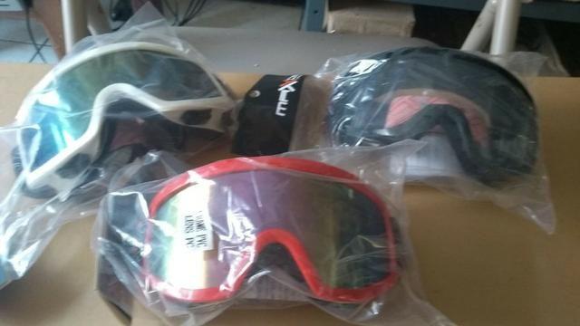 Oculos Proteção Cross Espelhado e Cristal - Diversas Cores = Atualizado !!! - Foto 10