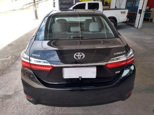 Toyota- Corolla GLI Upper 1.8 Aut. Flex, Ipva 2019 pago, Completo, Garantia até 2020, Novo - Foto 4