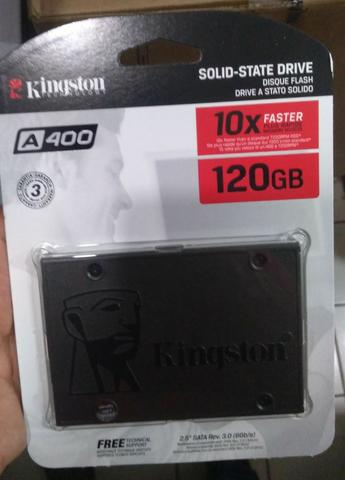 SSD Kingston A400 - 120GB - M.2