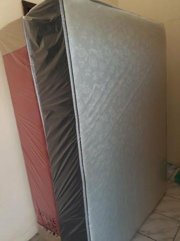 Camas Box Espuma Casal Direto de Fabrica - Foto 4