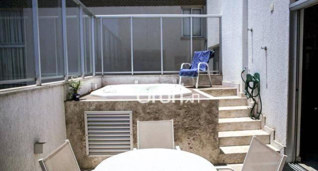 Cobertura com 3 dormitórios à venda, 170 m² por R$ 890.000,00 - Jardim Goiás - Goiânia/GO - Foto 15