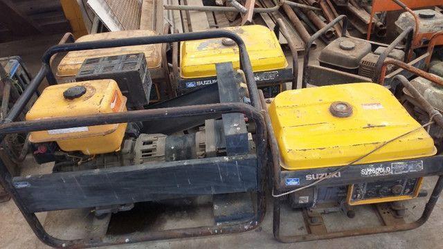 Geradores a gasolina Lote com 20 uni - Foto 3