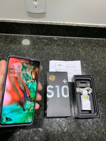 Samsung S10 PLUS 128gb, 8Ram,Not.Fiscal/Ac Trocas !!