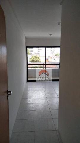 Apartamento com 3 quartos para alugar, 64 m² por R$ 1.800/mês - Casa Caiada - Olinda/PE - Foto 7