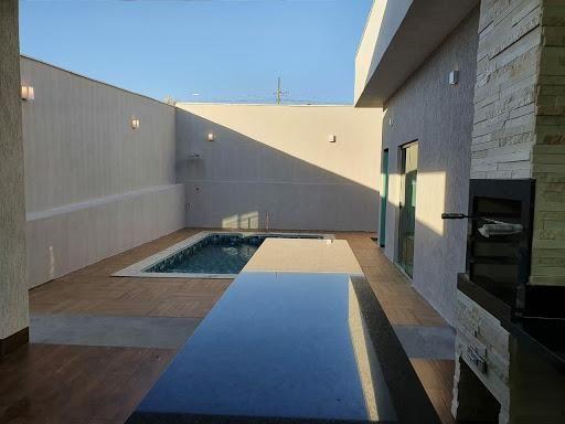 Casa à venda, 197 m² por R$ 580.000,00 - Sítio Recreio Encontro das Águas - Hidrolândia/GO - Foto 17