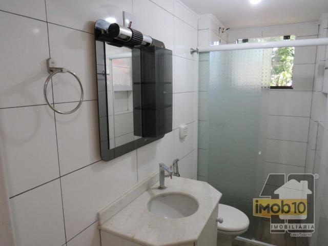 Apartamento com 2 dormitórios para alugar, 56 m² por R$ 950,00/mês - Edificio Itatiaia - F - Foto 11