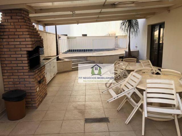 Apartamento com 4 dormitórios para alugar, 190 m² por R$ 2.700/mês - Centro - São José do  - Foto 16