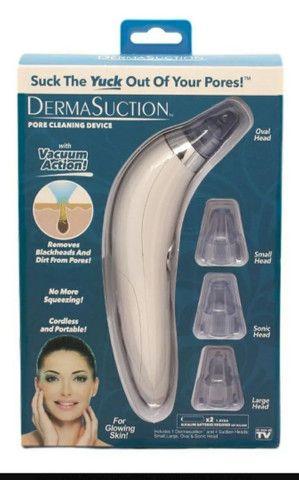 Aparelho Removedor Sucção Cravos Espinhas 4em1 Dermasuction - Foto 3