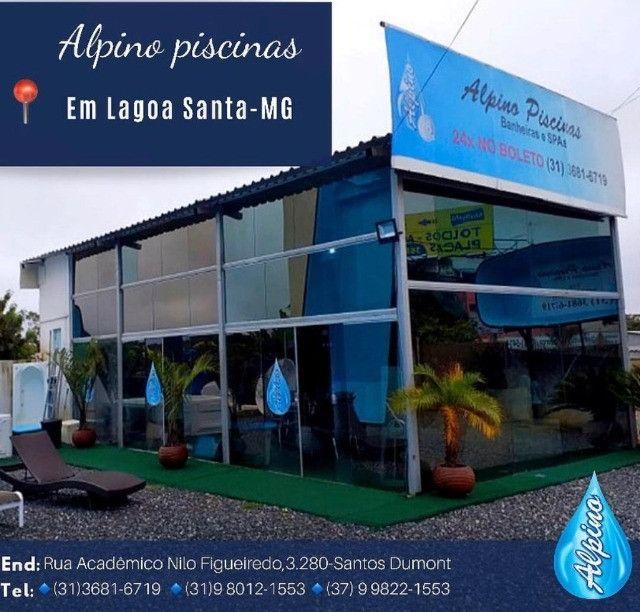 JU - Promoção Piscina de Fibra 6 x3 12 x Sem entrada - -Delluca Lago santa - Foto 4