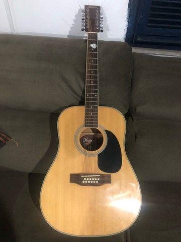 Mini marshall amplificador e violão 12 cordas  - Foto 4
