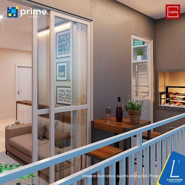 C/ Apartamentos entregues com porcelanato e varanda gourmet - Foto 6