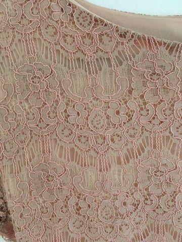 Vestido renda rosê - Foto 3