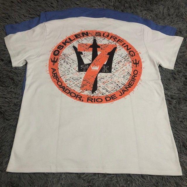 Camisas Osklen Malhão (PROMOÇÃO)  - Foto 3
