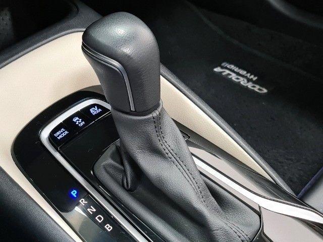 Corolla Altis Premium Hybrid 1.8 Flex Aut. | Apenas 10mil kms + Único dono! - Foto 9