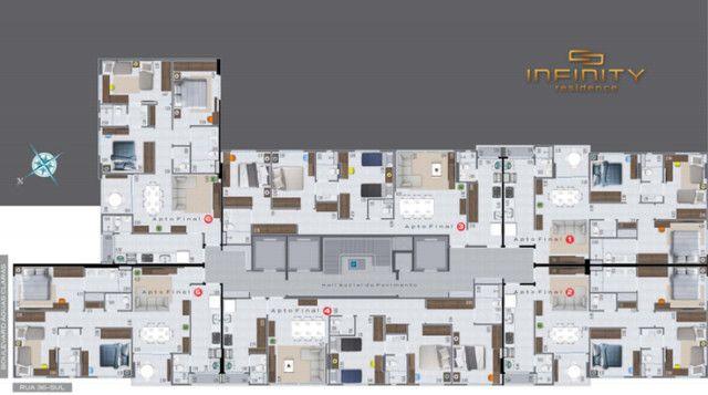 Apartamento Com 3 Suítes - Infinity Residence - Foto 15