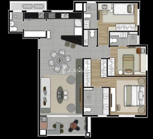 Apartamento à venda com 3 dormitórios em São francisco, Curitiba cod:AP0205 - Foto 13
