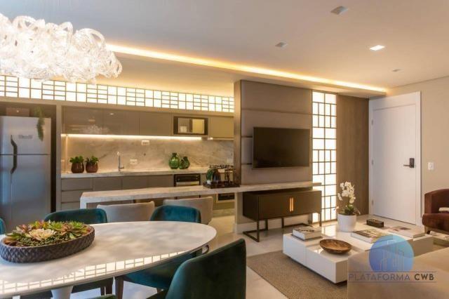 Apartamento com 2 dormitórios à venda por R$ 780.700,00 - Mercês - Curitiba/PR - Foto 11