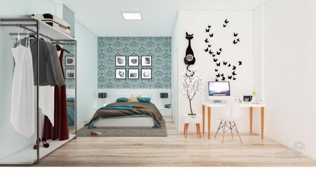 Apartamento à venda com 1 dormitórios em Centro, Ponta grossa cod:794 - Foto 7