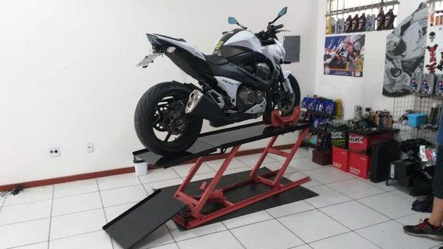 Elevador para motos 350kg ZAP 24 horas fábrica  - Foto 2