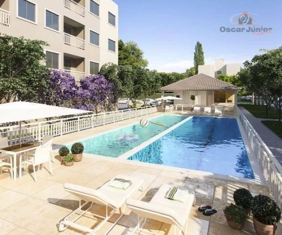 Apartamento com 2 dormitórios à venda, 49 m² por R$ 169.735,00 - Centro - Eusébio/CE - Foto 8