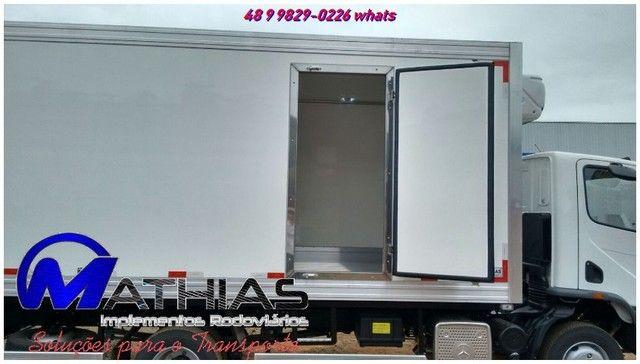 carroceria termica baus refrigerados produzidos sob medida novos e semi novos - Foto 3