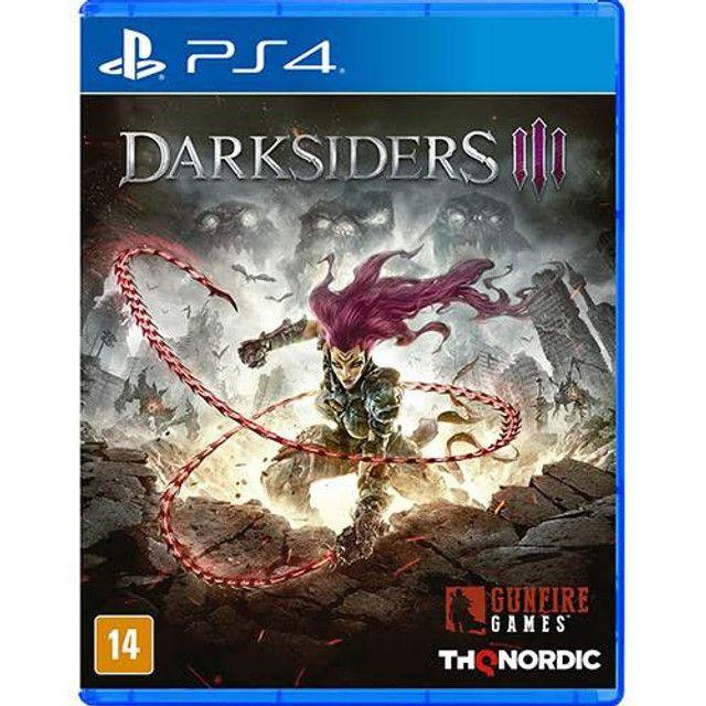 Darksiders lll - Midia física - Novo PS4 - Lacrado