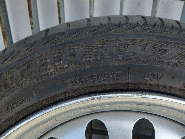 Rodas aro 16  original do Nissan Kicks - Foto 4