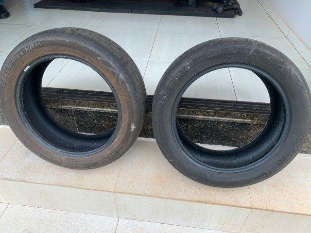 Pneus aros 16 usados (o valor é para os dois pneus) - Foto 4