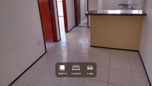AP1680- Aluga apartamento no Montese com 2 quartos, 1 vaga, sem taxa de condomínio - Foto 2