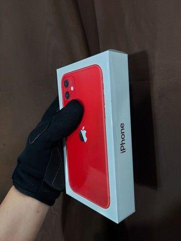 Iphone 11 64gb VERMELHO(Menor $ Parcelado)
