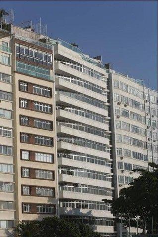 ATLÂNTICA, Posto 4! Clássico apartamento frontal mar, sol manhã, 677 m², 3 vagas! - Foto 20