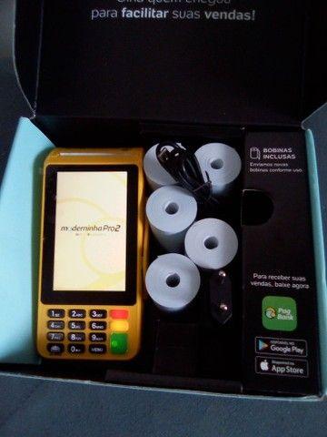 Máquina de cartão pág seguro - Foto 2