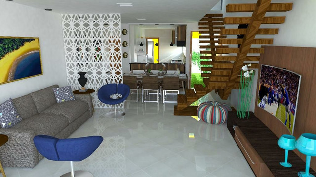 Casa no Privê Praia dos Carneiros Rua N lote 8 - Foto 12