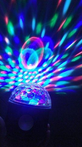 Globo de Luz c/ Caixa de Som Bluetooth - Foto 3
