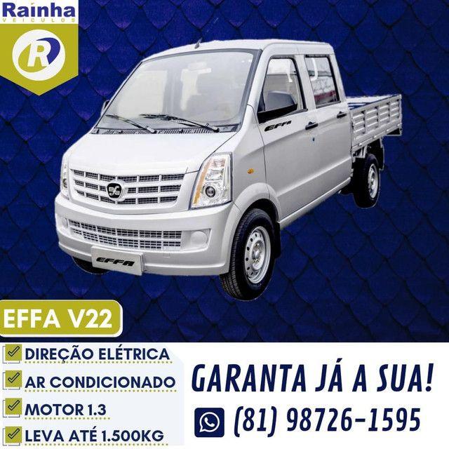 EFFA STRADA PRONTA ENTREGA V22 CAB. DUPLA 2021