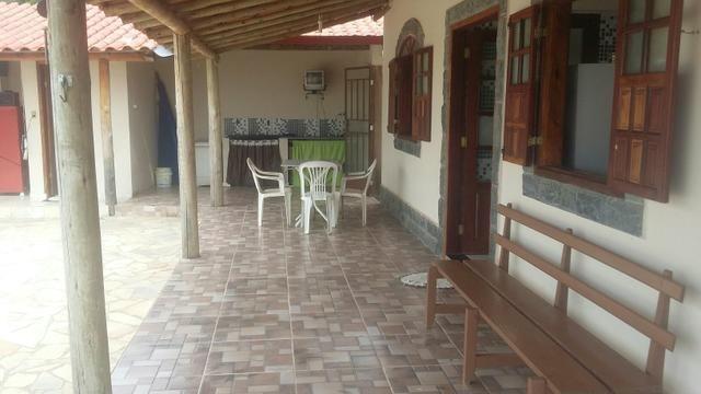 Casa com piscina em s.José de Almeida. 350 a diária do fim de semana comum - Foto 6