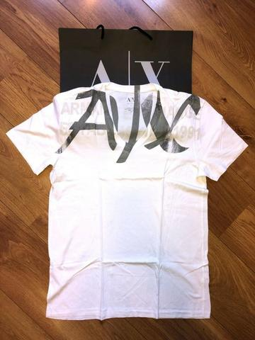 Camiseta Armani Exchange Masculina - tamanho G nova e Original - Foto 2