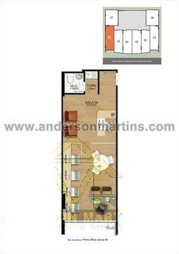 Escritório à venda com 0 dormitórios em Praia da costa, Vila velha cod:4009 - Foto 7