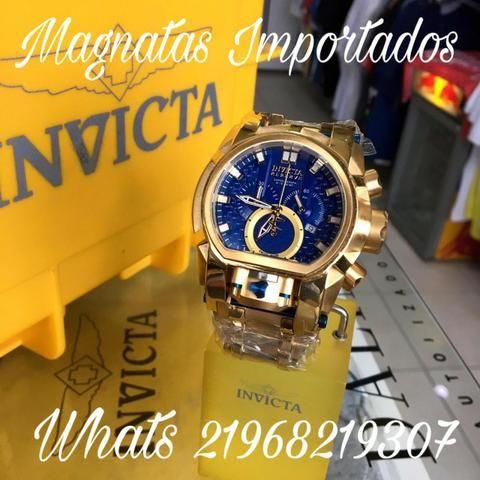 27db6548e84 Relogio invicta bolt zeus magnum fundo azul promoçao magnatas importados