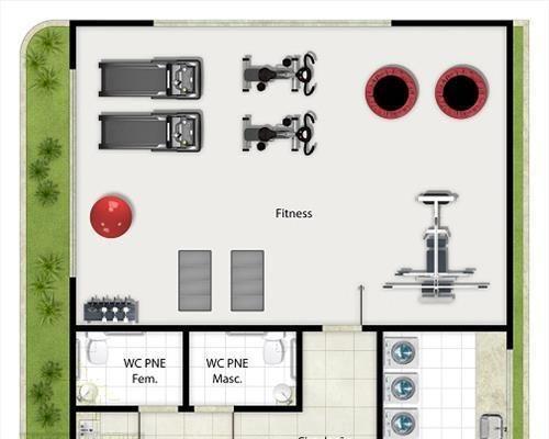 Apartamento à venda com 2 dormitórios em Praia do canto, Vitória cod:3405 - Foto 11
