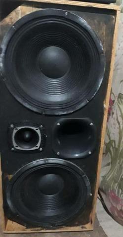 Caixa de som com 2 Auto Falante de 12 Polegadas Etm Exps 800w 8 Oms cada uma